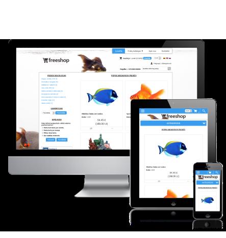 Zoo prekių elektroninė parduotuvė internete