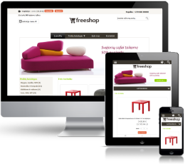 Baldų elektroninė parduotuvė internete (2)