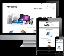 Įrangos elektroninė parduotuvė internete