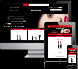 Kosmetikos elektroninė parduotuvė internete