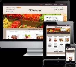 Saldainių elektroninė parduotuvė internete