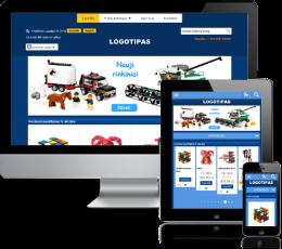 Žaislų elektroninė parduotuvė internete
